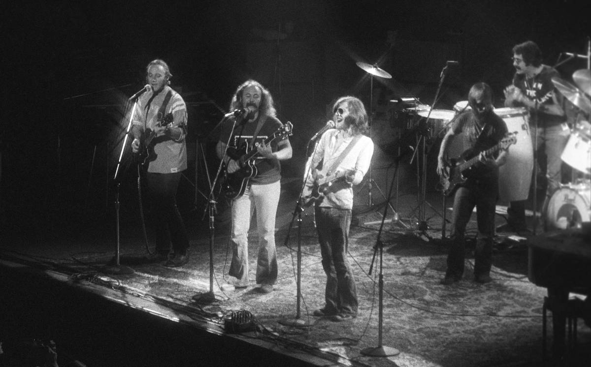 Crosby, Stills, Nash & Young - $5,000
