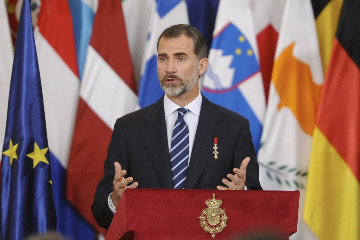 King Felipe Has Held Many Titles