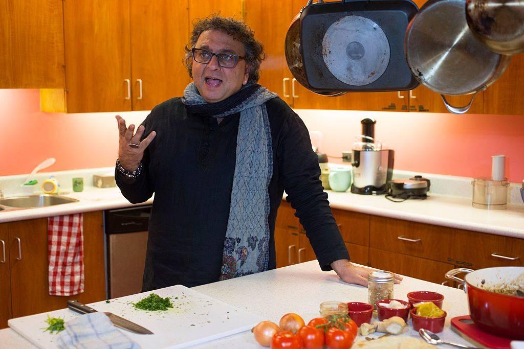 Vikram in the kitchen