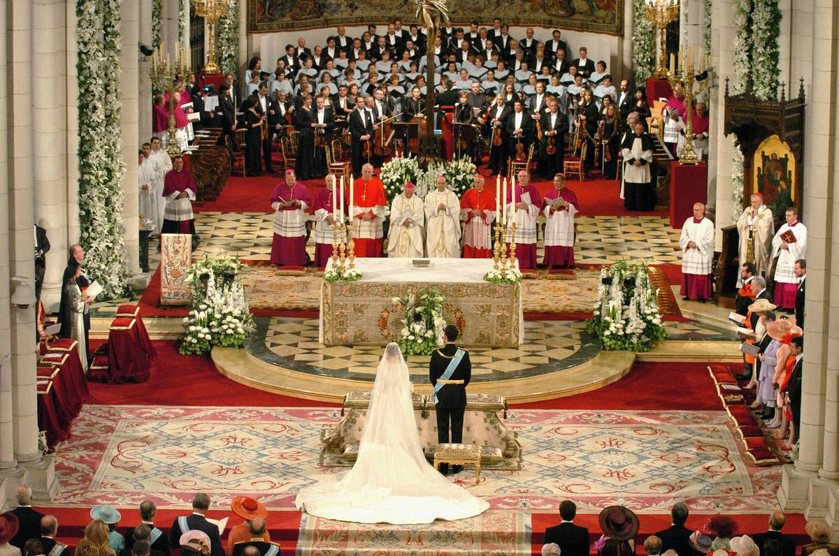 King Felipe And Queen Letizia Married In 2004