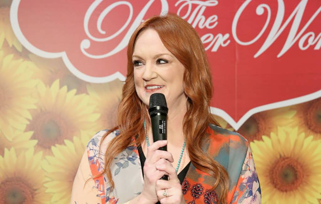 Ree Drummond with microphone