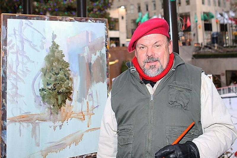 Picture of Thomas Kinkade