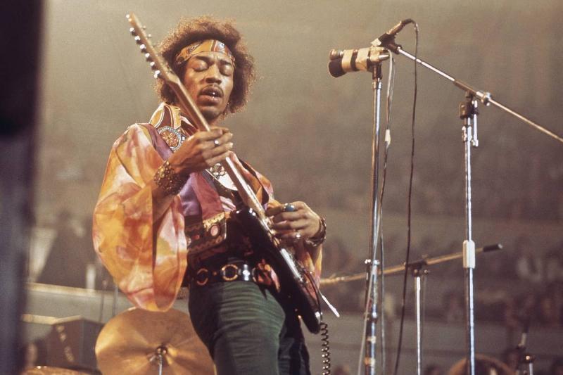 Jimi Hendrix - $18,000