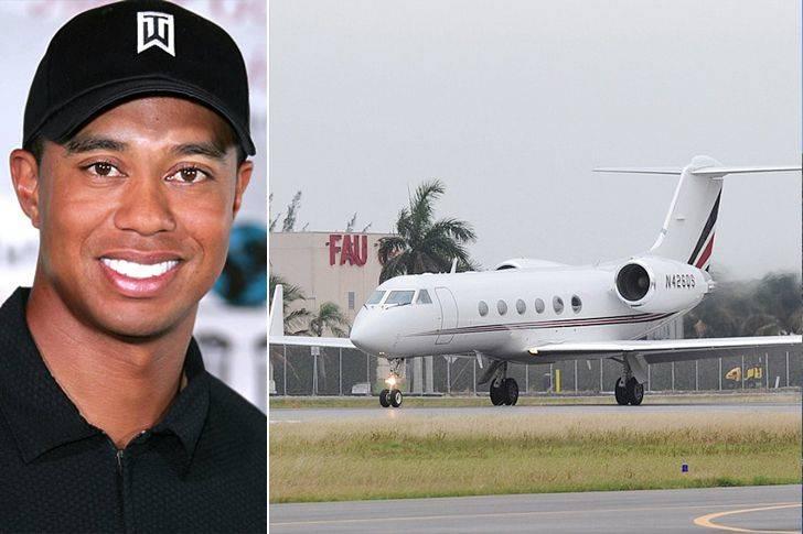Tiger Woods' Gulfstream G550