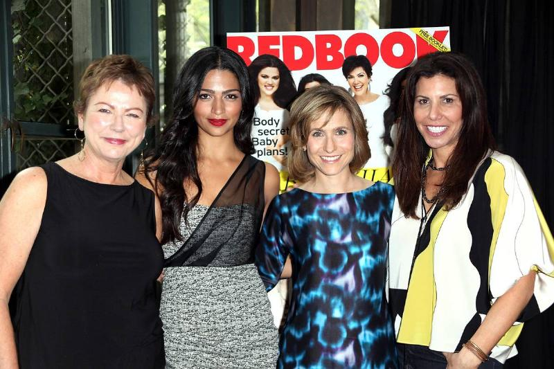 Women attend Redbook magazine's beauty awards breakfast.