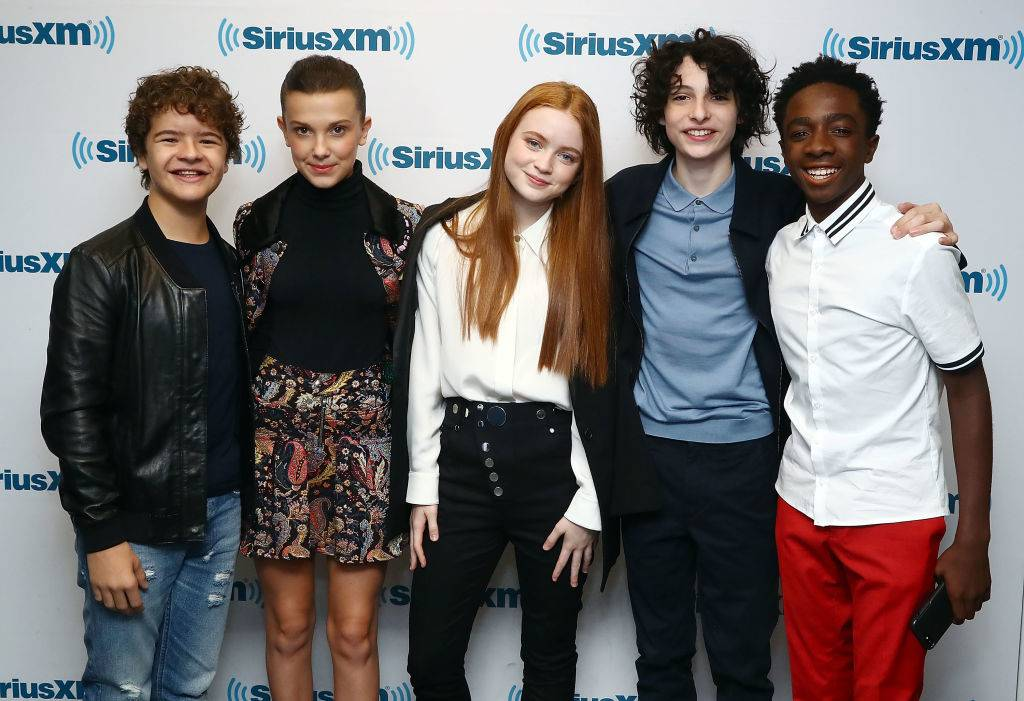 Picture of the cast of Stranger Things