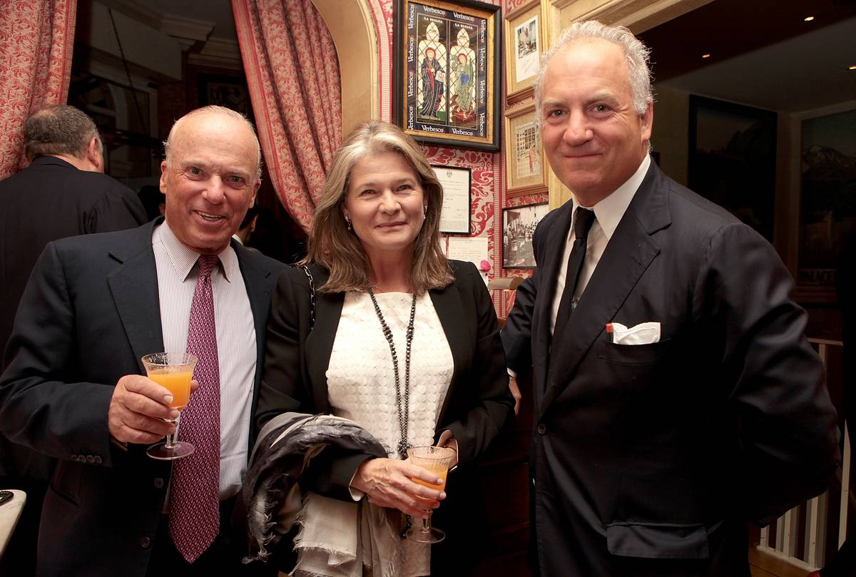 Charles Finch And Jean Pigozzi Host A Dinner With Mulberry Chairman, Godfrey Davis