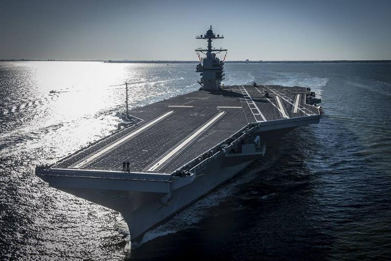12. USS Gerald Ford_CVN-78 Class Aircraft Carrier