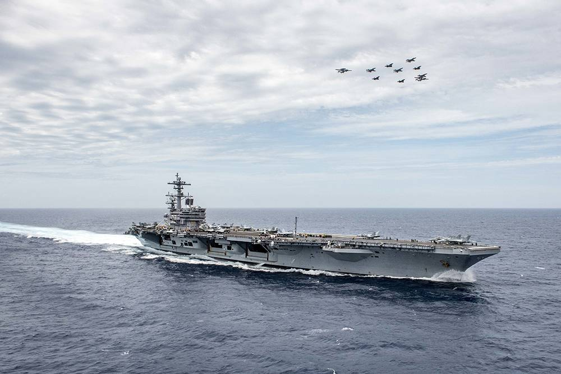 17. USS George H.W. Bush