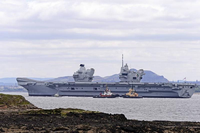 26. HMS Queen Elizabeth