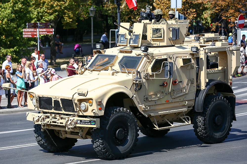 29. Oshkosh M-ATV