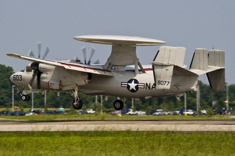 7. Northrop Grumman E-2D Advanced Hawkeye_Wikimedia Commons_Creator MC2 (SWAW) Kenneth Abbate_Credit U.S. Navy