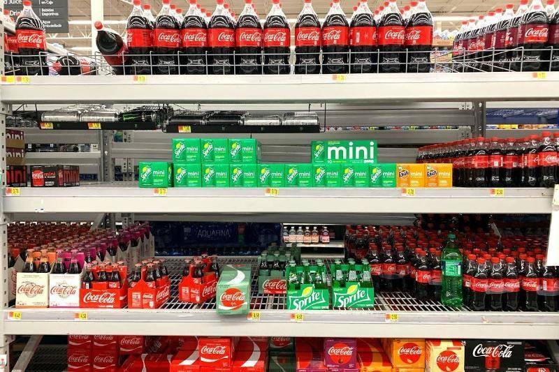 Aldi's Store-Brand Soda Comes Up Flat