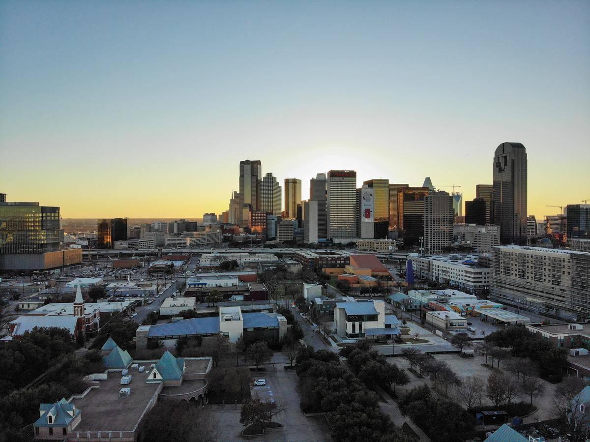 Downtown Dallas Texas