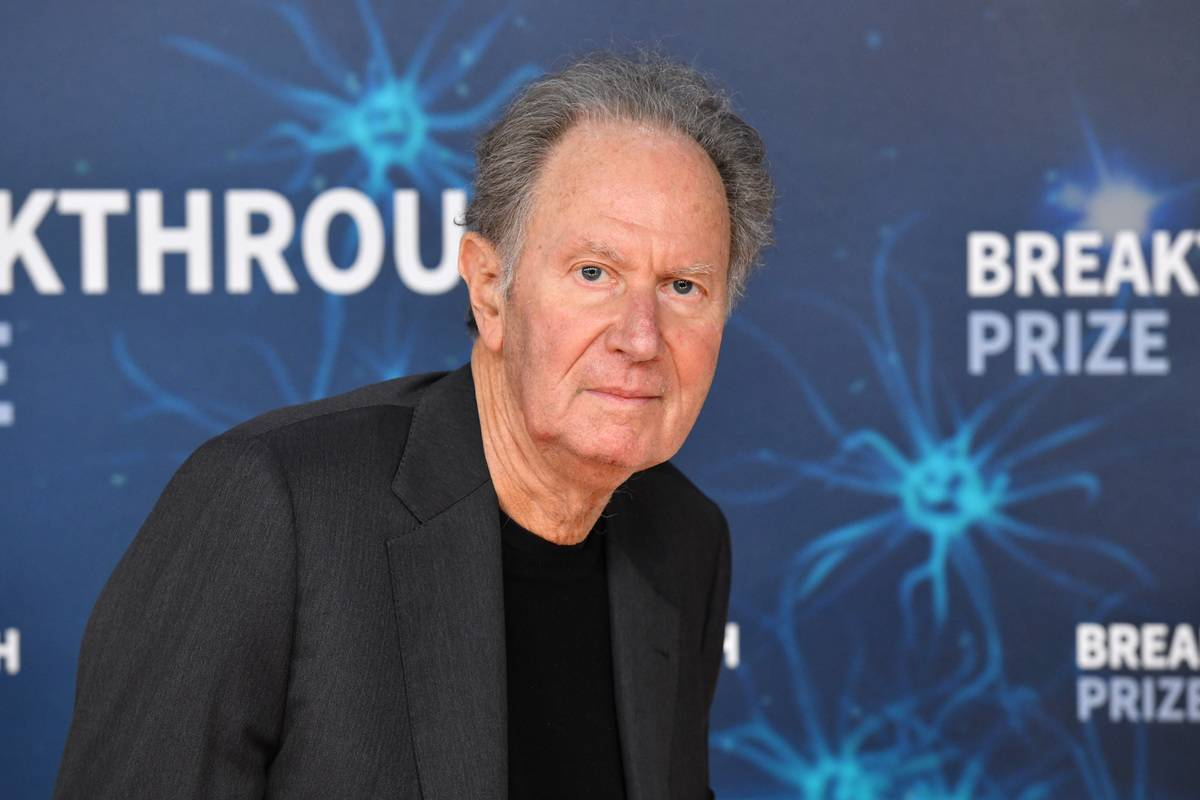 David Bonderman attends the 2020 Breakthrough Prize Red Carpet at NASA Ames Research Center.