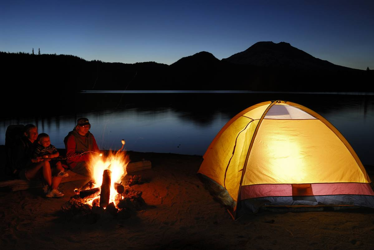 July Is A Great Time To Purchase Camping Gear