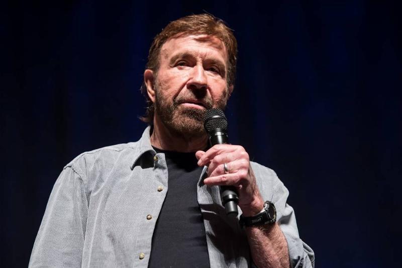 Martial artist/actor Chuck Norris make his Wizard World Comic Con debut during Wizard World Comic Con