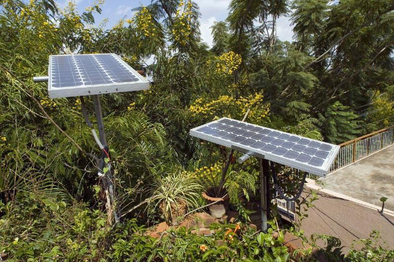 Outdoor Solar Lighting Helps Save Costs