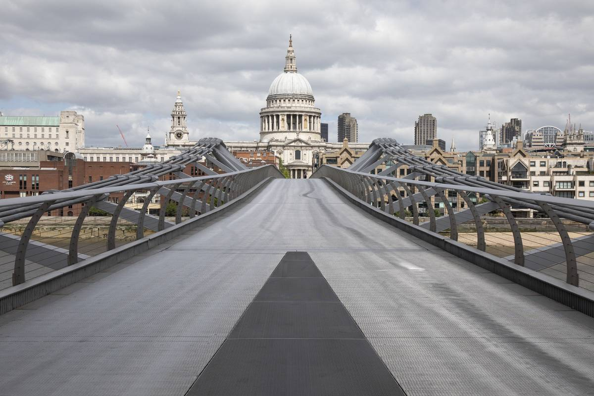 The Swaying Millennium Bridge Cost $6.6M To Fix