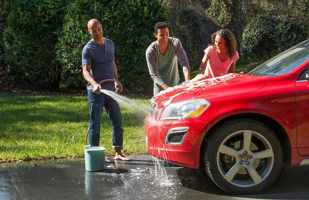 Try Washing Your Car With Hair Conditioner To Get Extra Shine