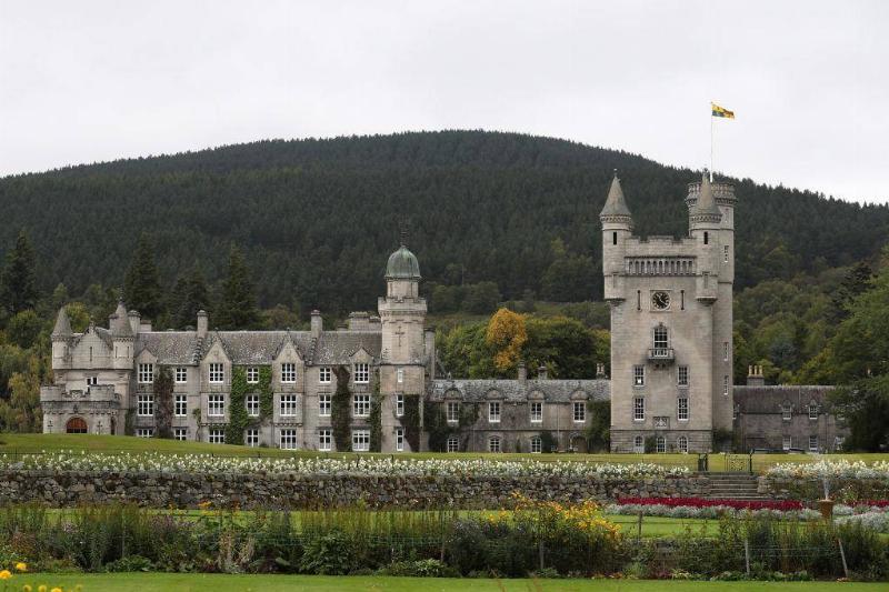 Balmoral Castle In Scotland Is Queen Elizabeth's Scottish Home