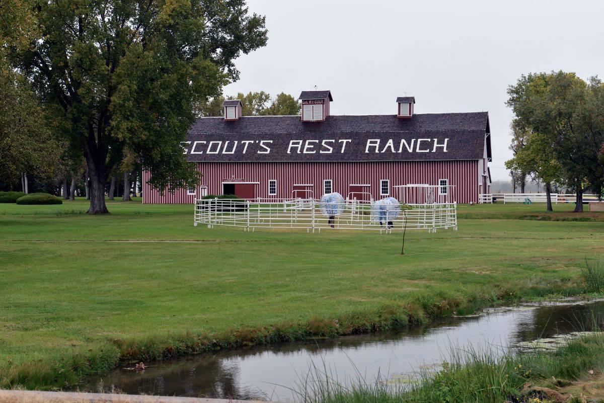 Buffalo Bill Scouts Rest Ranch is seen in North Platte, Nebraska.