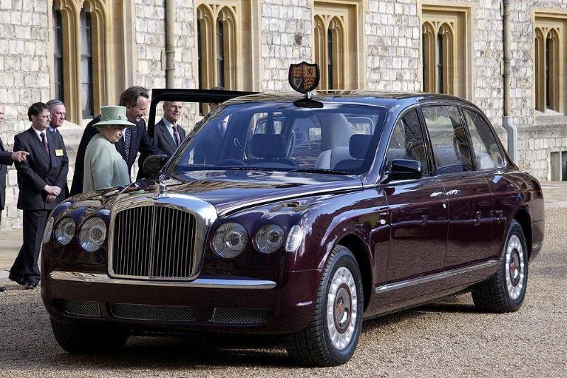 The Queen's Bently Limo