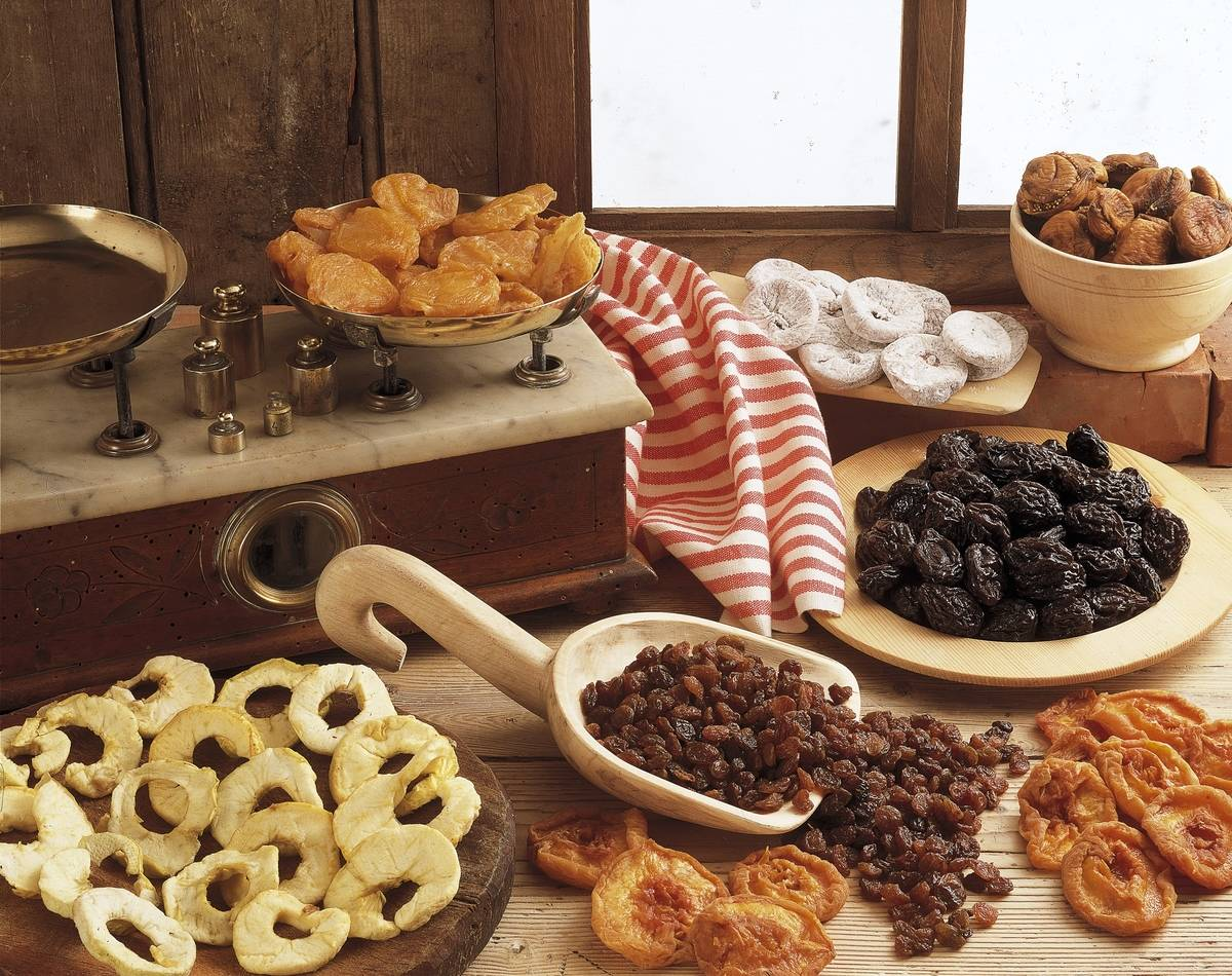 Close-up of dried fruits