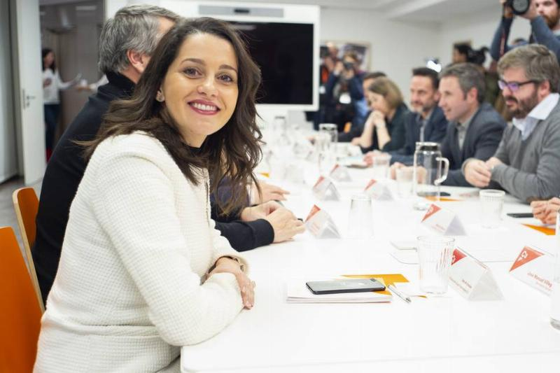Meeting Of The Ciudadanos' Management Committee In Madrid