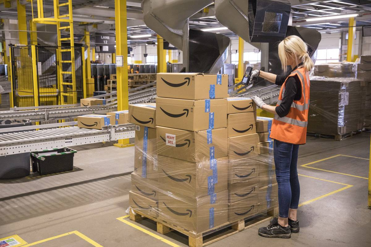 Amazon Supply Chain: $15/Hr