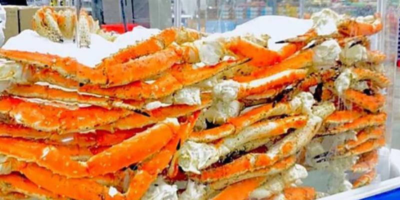 Picture of crab legs