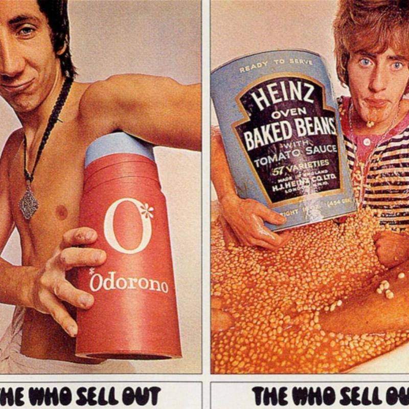 The Who Sell Out, 1967 Butterfly Poster