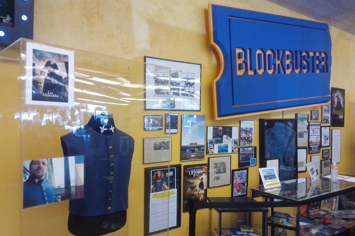The last remaining Blockbuster is in Bend, OR.