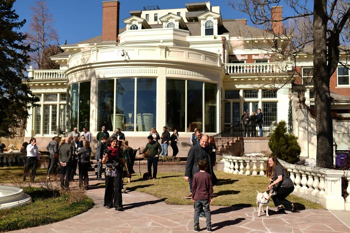 Colorado Governor's Mansion in Denver.