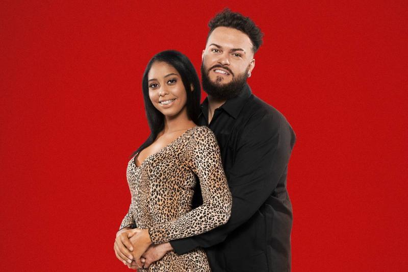 Chantel Everett and Pedro Jimeno pose for a promotional photo.