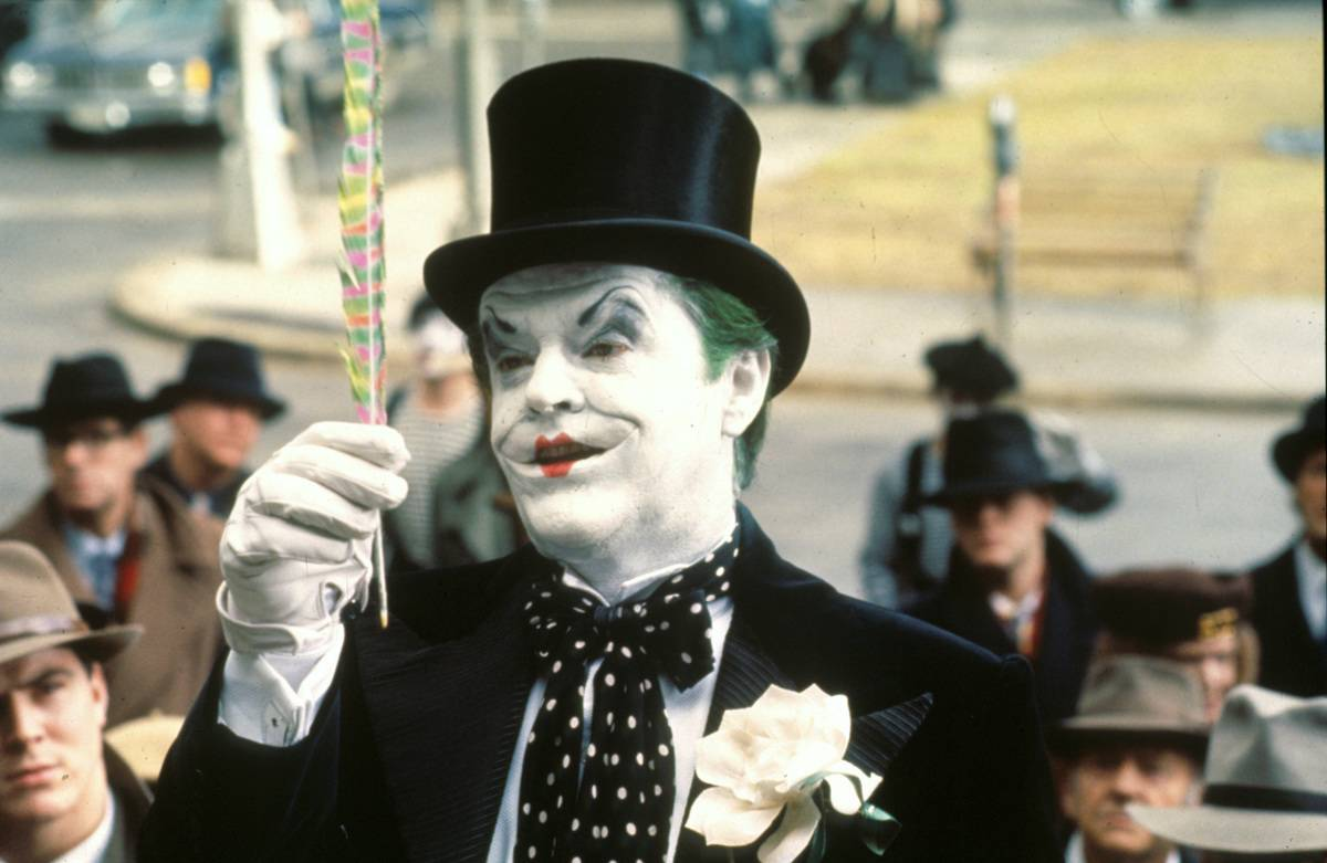jack nicholson in batman as the joker