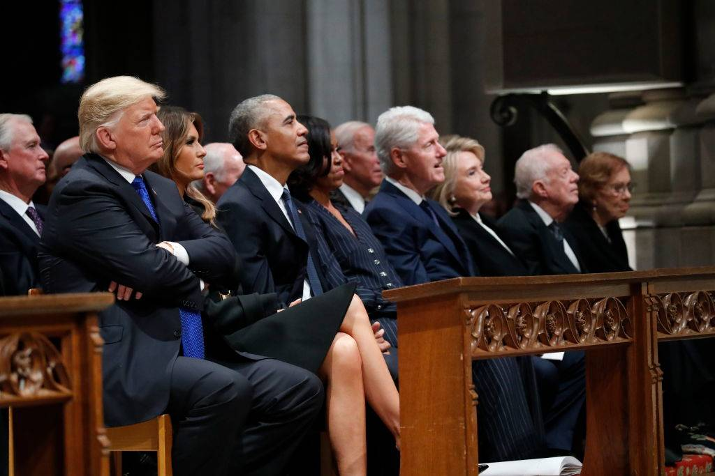 Picture of former presidents
