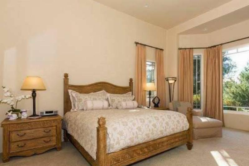 The Guest Bedroom Is Elegant And Classy