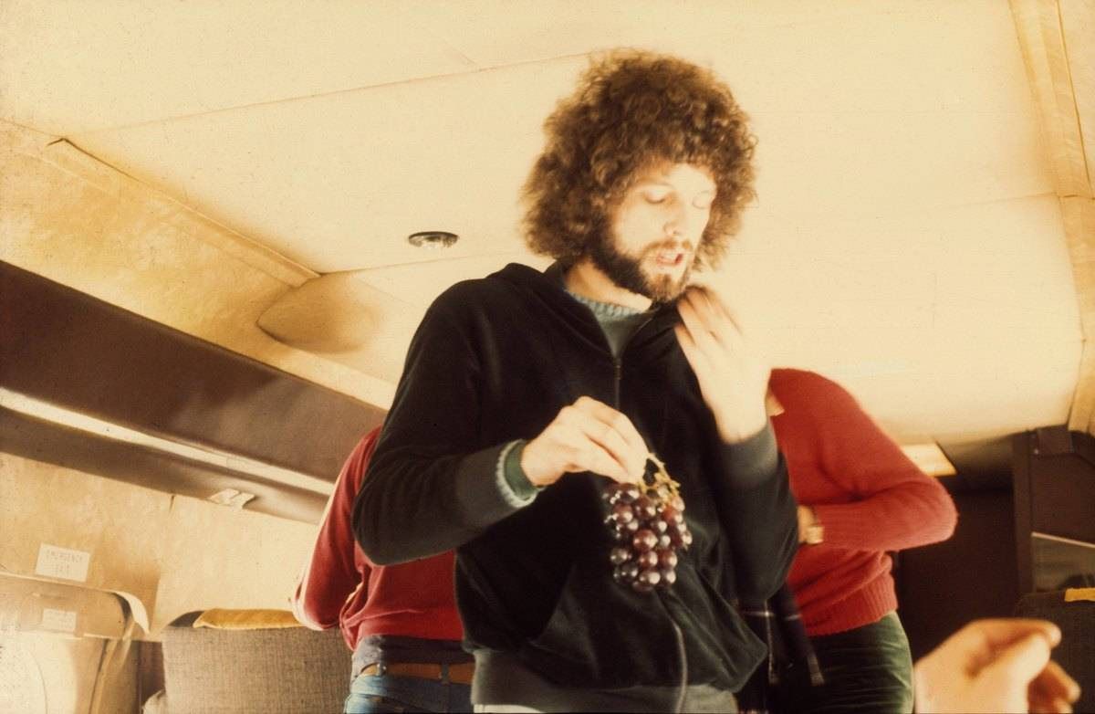 Fleetwood Mac With Their Plane