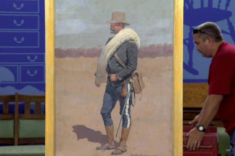 1896 Frederic Remington Portrait