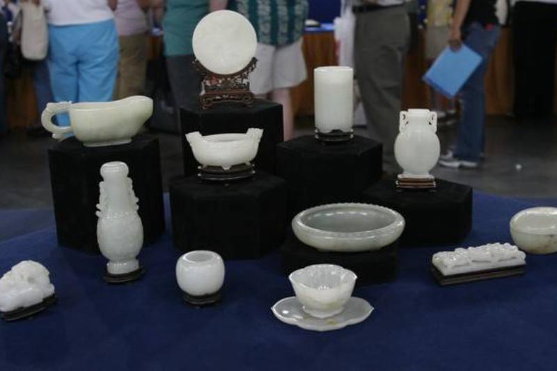 18th Century Qianlong Jade Collection