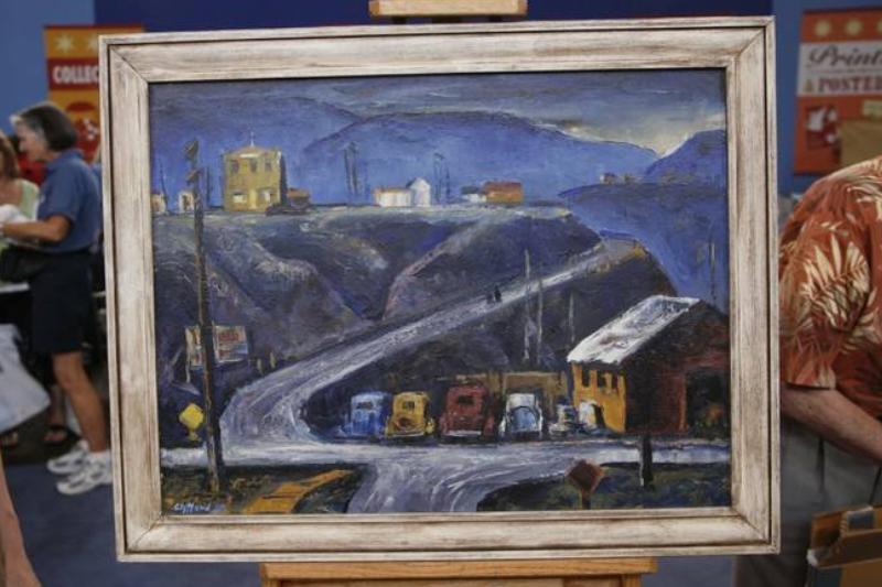 Clyfford Still Oil Painting