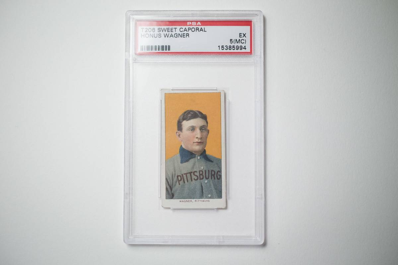 Original Honus Wagner Baseball Card