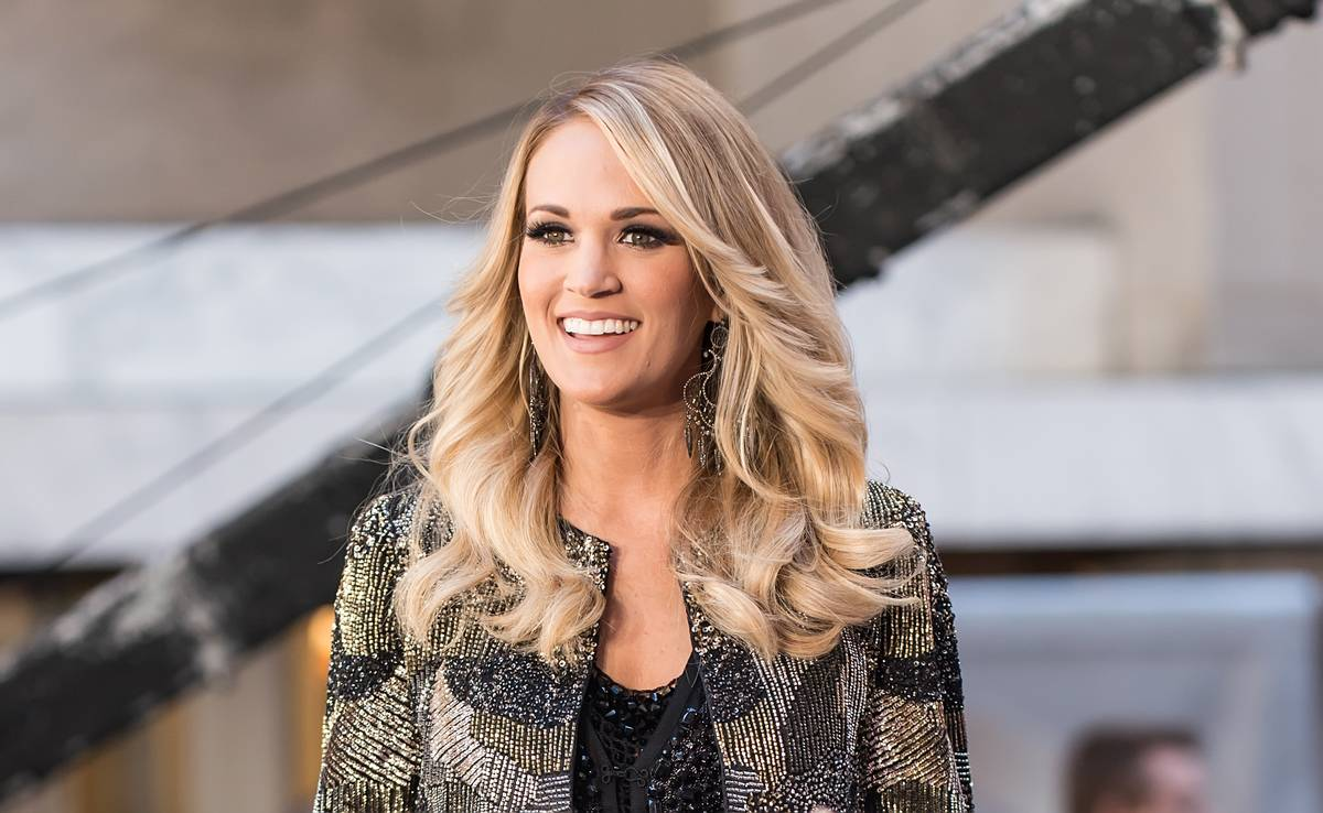 """Carrie Underwood Performs On NBC's """"Today"""""""