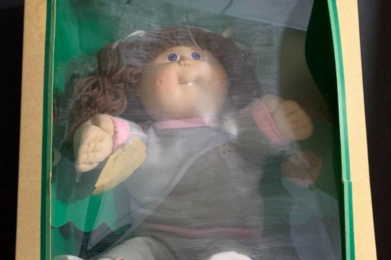 A 1983 Cabbage Patch Kid in her original box is selling on eBay for $4,999.