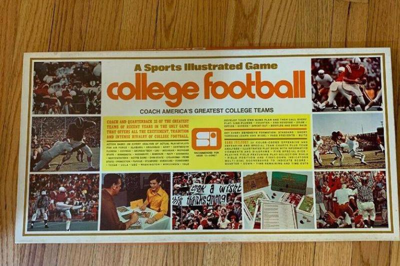 1971 Sports Illustrated Board Game