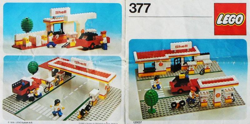 1978 Lego Shell Station