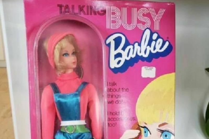Talking Busy Barbie