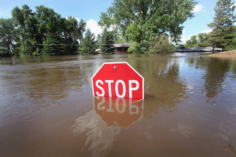 Record Flooding Forces North Dakota Residents To Evacuate