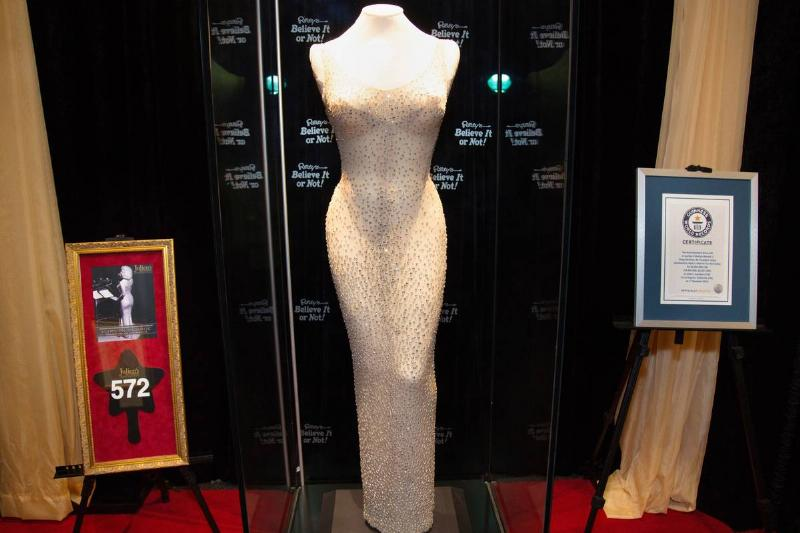 Ripley's Believe It or Not! Unveils Marilyn Monroe's Iconic 1962